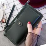 Super thin multipurpose purse plain simple wallet
