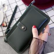 image of Super thin multipurpose purse plain simple wallet