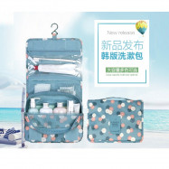 image of Travelling Cosmetic Bag Big Capacity 6 pockets outstation traveller