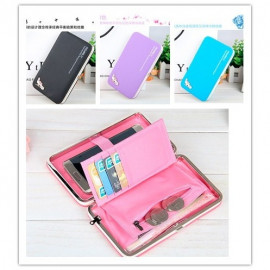 image of Multi-color smartphone wristlet / purse / wallet 5.5 inch
