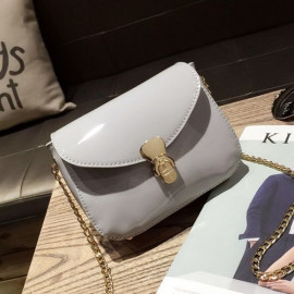 image of Jelly color sling bag chain bag
