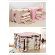image of Oxford Clothes Storage Box with Stainless Steel Frame Work