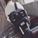 Casual Back Pack canvas college travel laptop bag young unisex