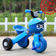 image of BBH 2016 Premium Tricycle With Light And Foldable (Blue)