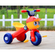 image of BBH 2016 Premium Tricycle With Light And Foldable (Red)