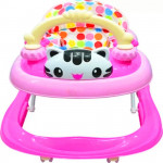 BBH 839 Baby Strong Based Walker With English Song And Light (Pink)