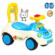 image of BBH Baby Q06-1 Big Size Activity PIPI Sound Ride on Car