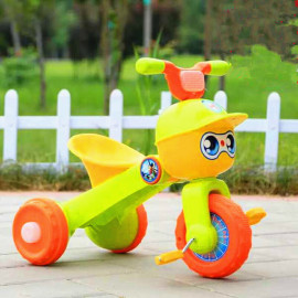 image of BBH 2016 Premium Tricycle With Light And Foldable (Green)
