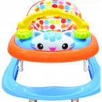 BBH 839 Baby Strong Based Walker With English Song And Light(Blue)