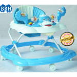BBH 315 Baby Walker Free Stopper And English Song & Best Seller (Blue)