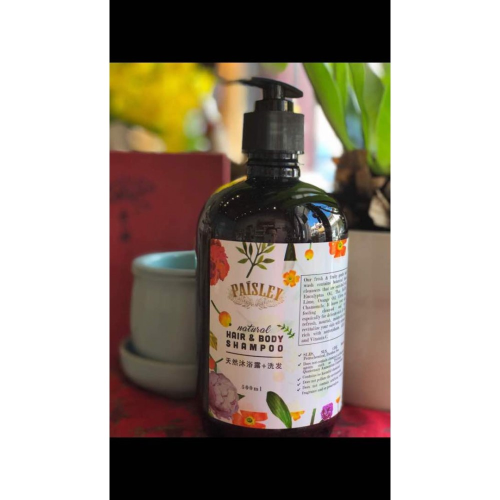 Paisley Natural Body & Hair Shampoo