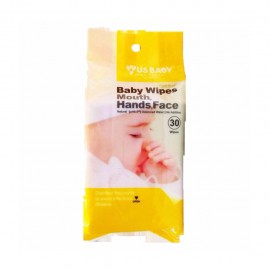 image of Us Baby Wipes for Gums & Teeth 30's 1 packs