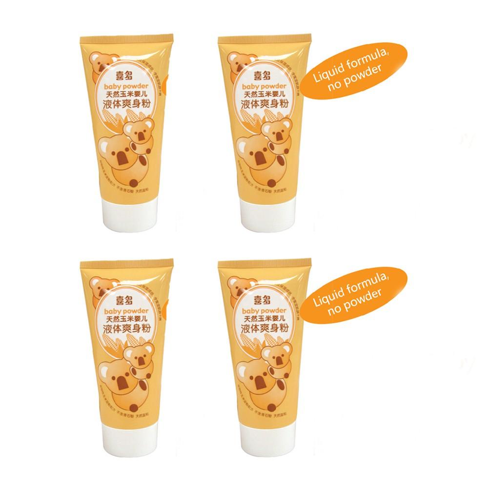 Hito Cornstach Baby Liquid Powder, 4bottles/bundle