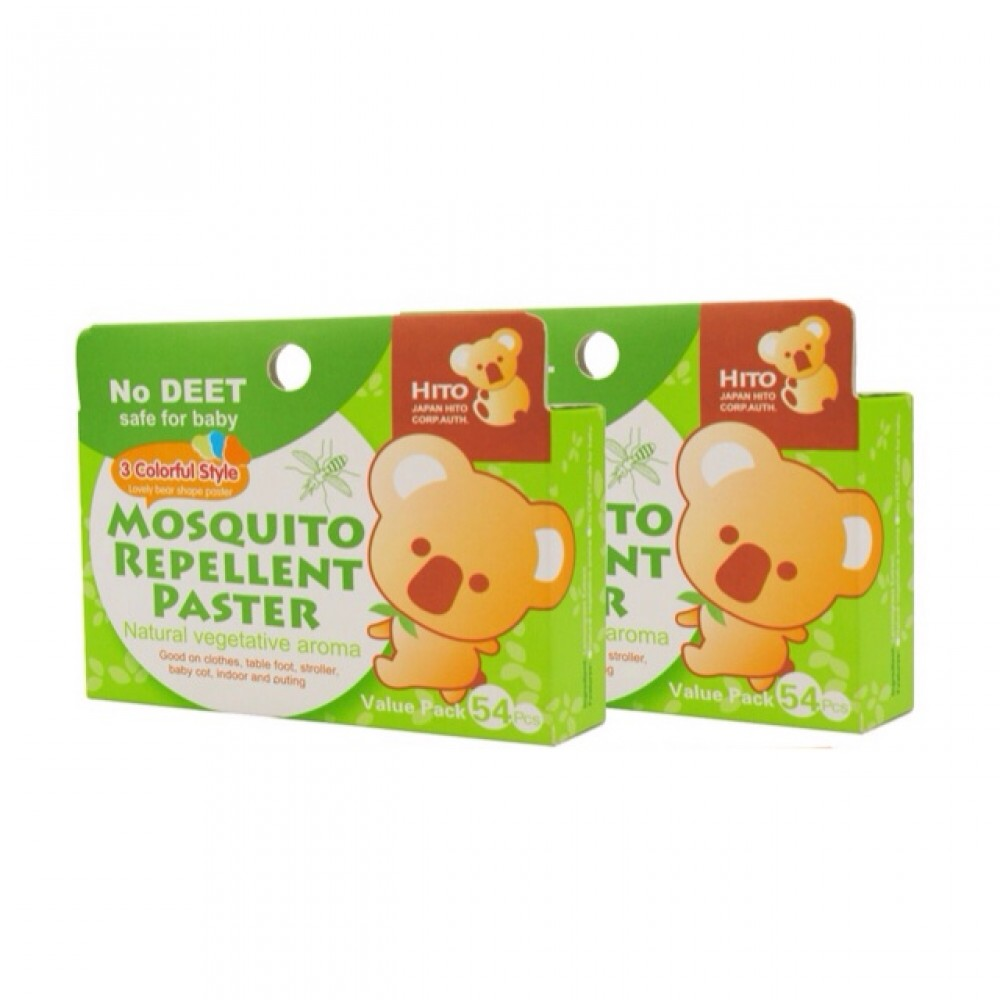 Hito Botanical Repellent Patch 54psc [ 2 boxes ]
