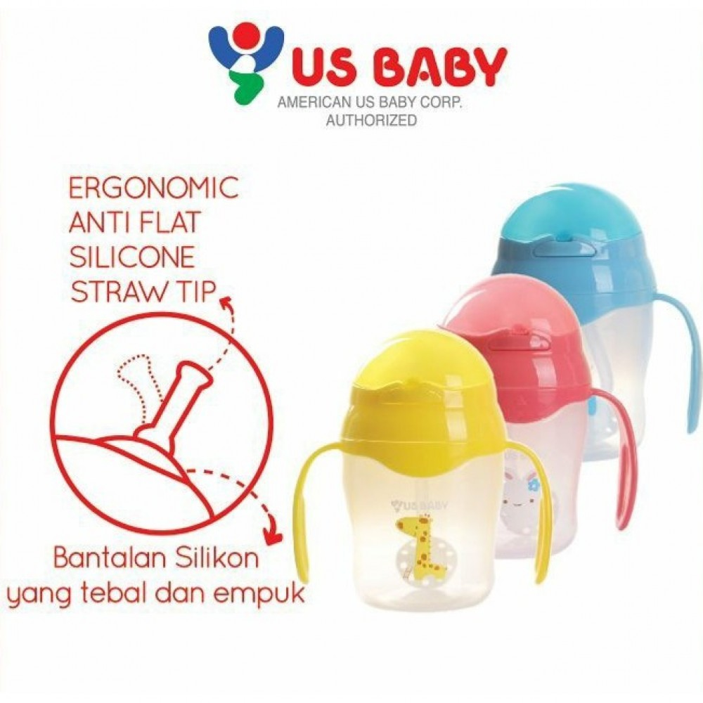 US Baby 360' Degree Straw Training Cup