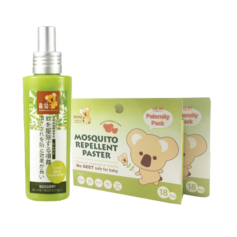 Hito Botanical Mosquito Repellent Spray & Patch