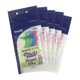 image of Maxill Bucky Beaver Flosser 5psc, 5packs/bundle