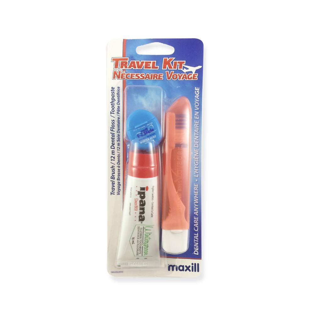 Maxill Ipana Wintergreen Travel Kits