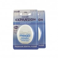 image of Maxill Expansion Floss, Winter Mint, 2pcs / bundle