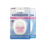 image of Maxill Expansion Dental Floss, Bubble Gum, 2pcs / bundle