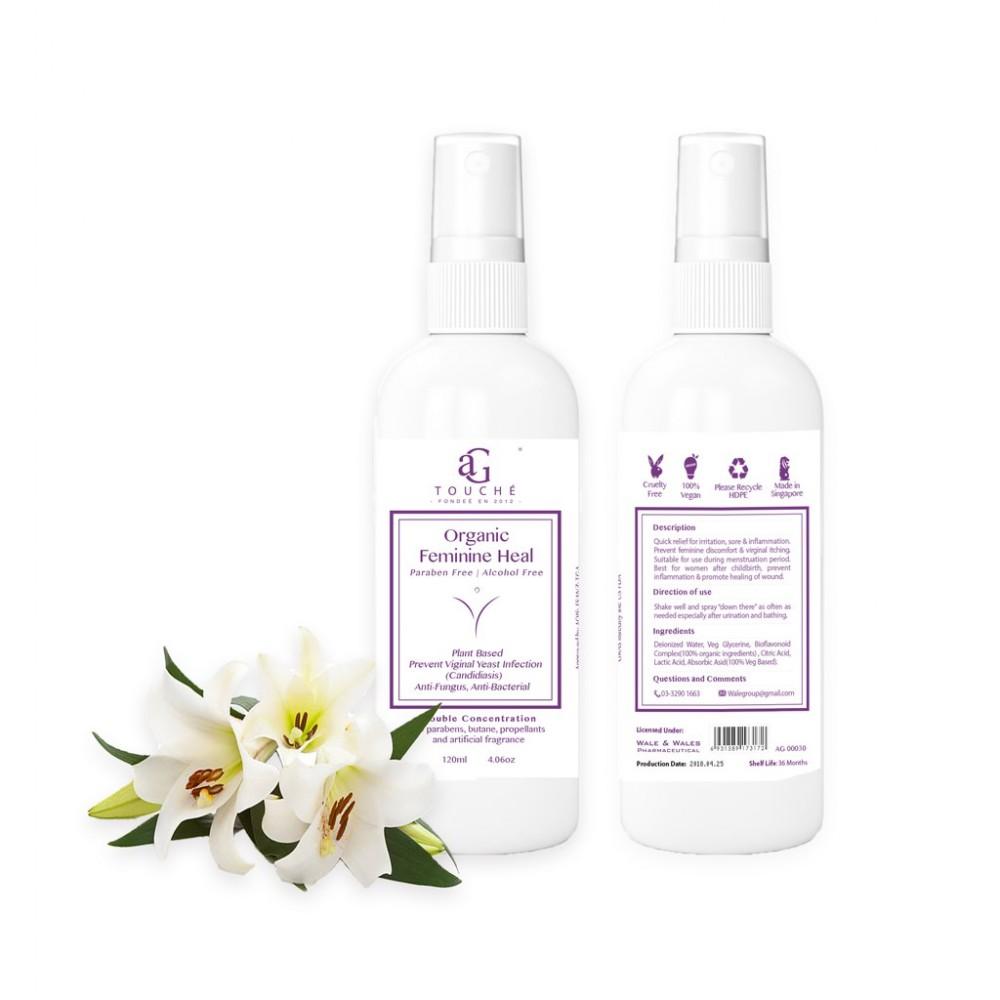 AG Touche Organic Feminine Heal 120ML (1 bottle)
