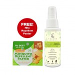 AG Touche Natural Repellent Spray 120ML [ FREE 1 box Hito Repellent Patch ]