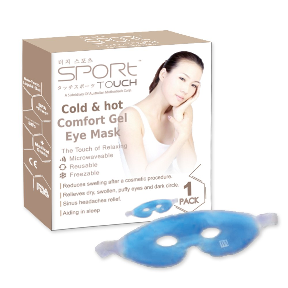 Sport Touch Cold/hot Gel Eye Mask, 1pcs