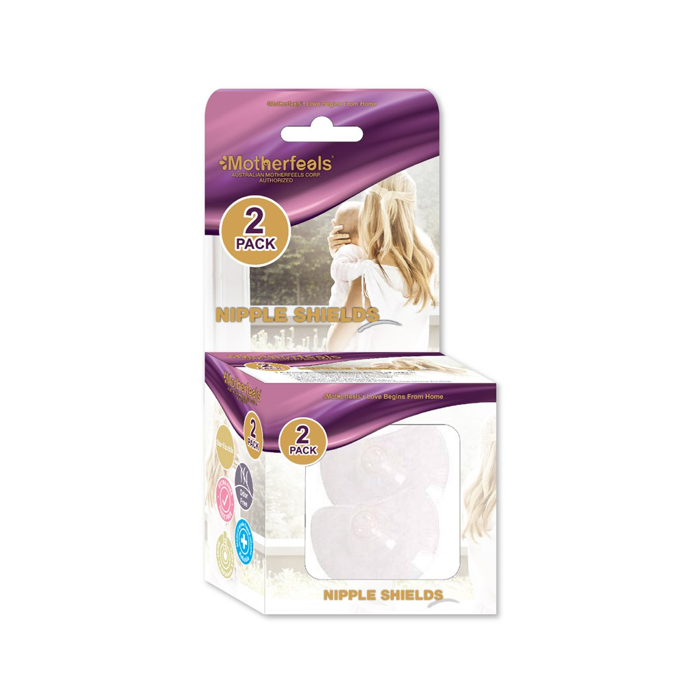 Motherfeels Silicone Nipple Shield 2 packs