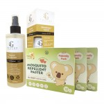Hito Natural Herbal Mosquito Repellent 18's patches (3 boxes) & AG Touché Deodorizer (ANY 1 bottle)