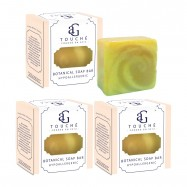 image of AG Touché Botanical Baby Soap Bar Hypoallergenic Lemongrass (80g) [Bundle of 3]