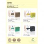 AG Touché Botanical Baby Soap Bar Hypoallergenic Lemongrass (80g) [Bundle of 3]