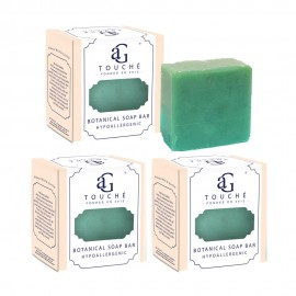 image of AG Touché Botanical Baby Soap Bar Oriental Tea (80g) [Bundle of 3]