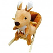 image of Woodalion Parents Aussie Kangaroo Infant Rocker