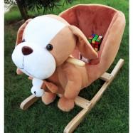 image of Woodalion Parents Beagle Infant Rocker