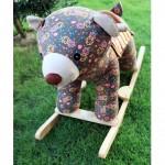 Woodalion Grizzy Bear Infant Rocker