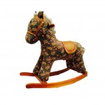 Woodalion Sun Horse Infant Rocker