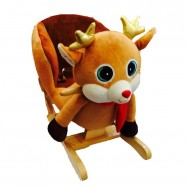 image of Woodalion Rain Deer Infant Rocker