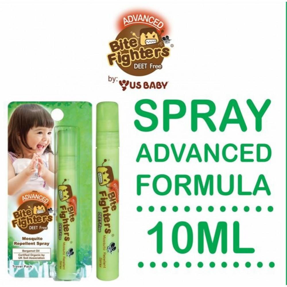 Bite Fighters Advanced Organic Repellent Spray 10ml