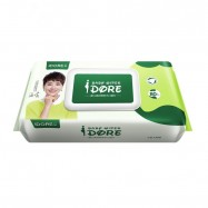 image of IDORE Premium Baby Wipes 80's (1 Pack)