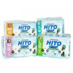 Hito Chlorine Free Baby Diapers 1 Pack