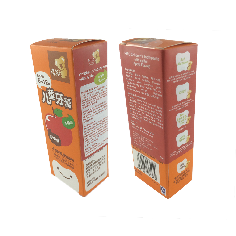 Hito Children's toothpaste with xylitol_Apple Flavor (1pcs)