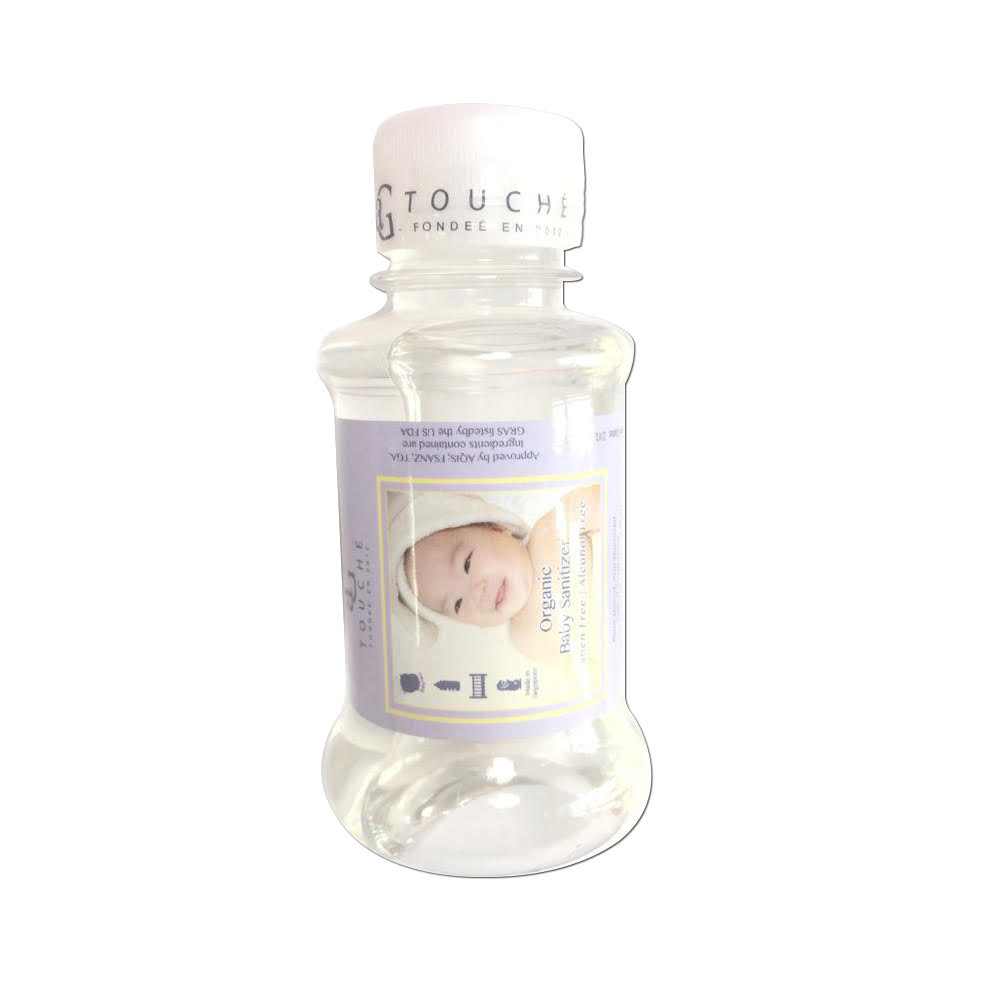 AG Touche Organic Baby Sanitizer Travel Refill Bottle 100ML