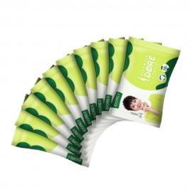 image of IDORE Premium Baby Wipes 10s x 10 packs