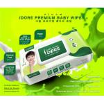 IDORE Premium Baby Wipes (80's x 10)