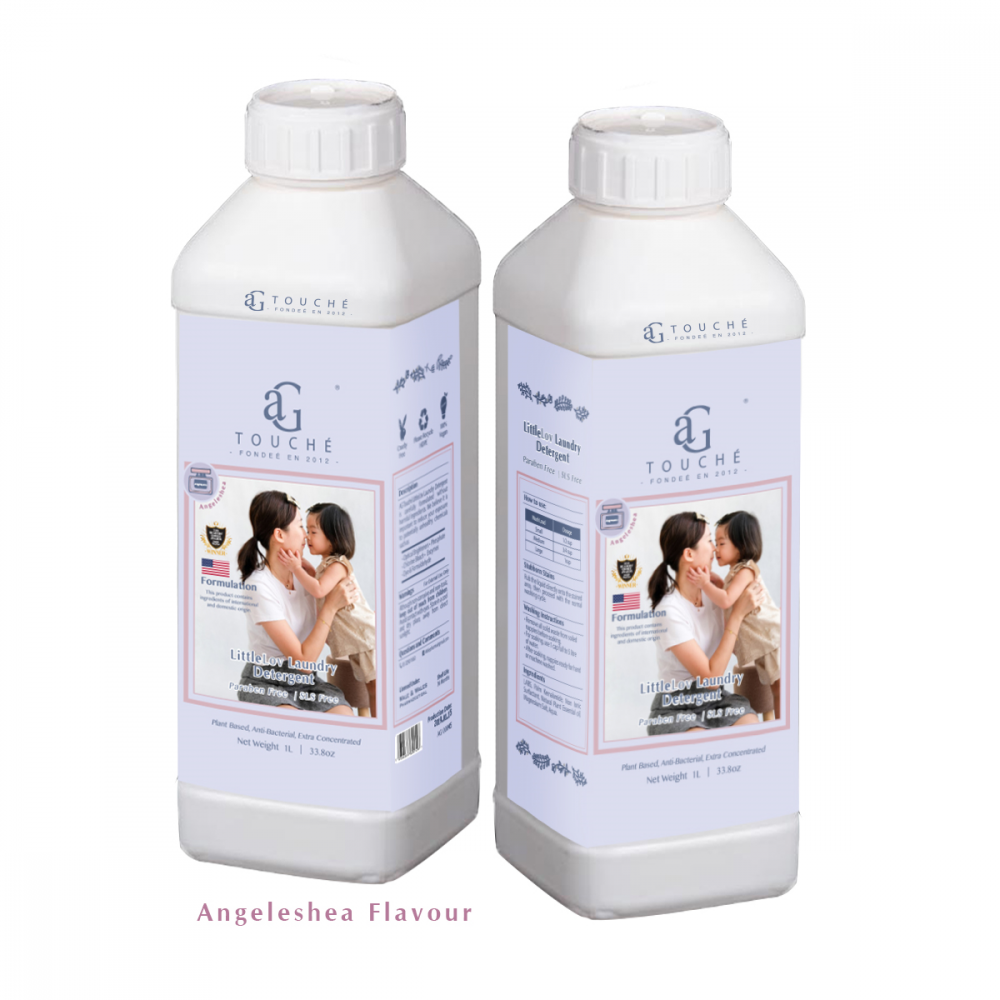 AG Touche LittleLovLaundry Detergent 1litre (suitable for adult)