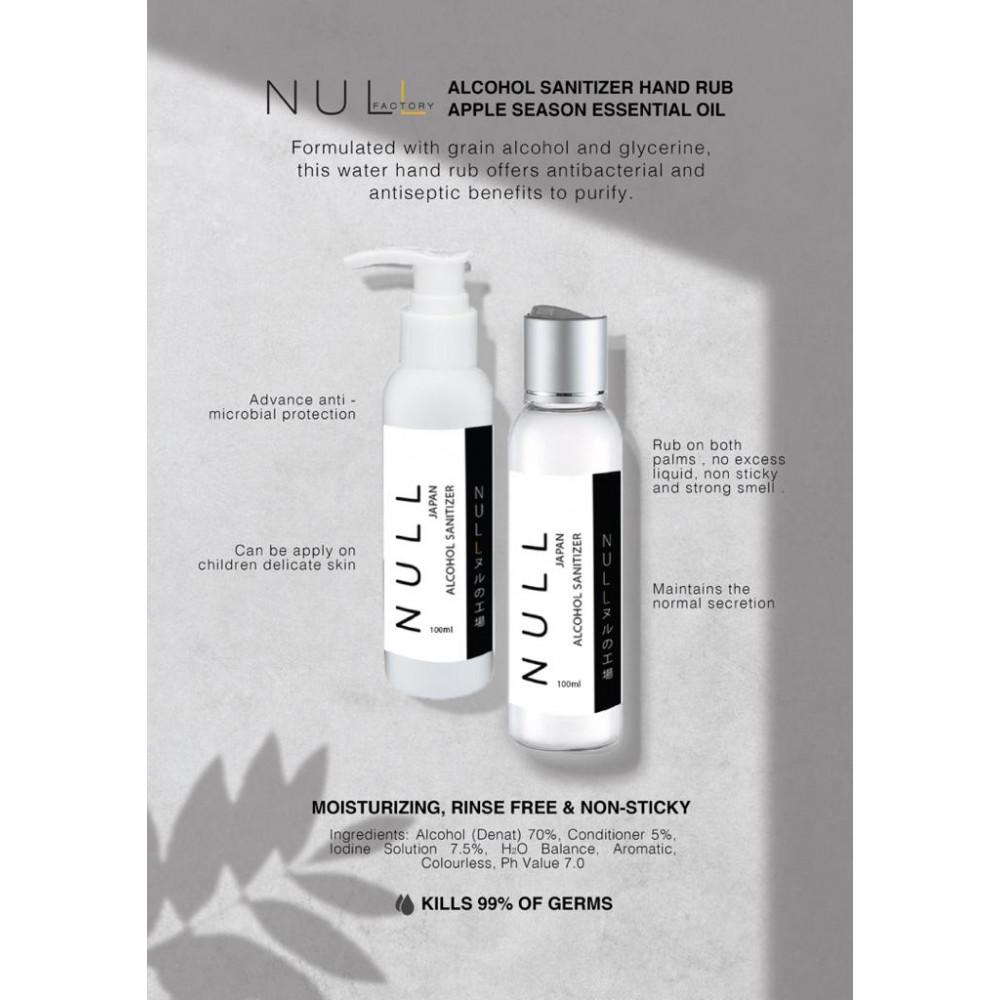 Null JPN Alcohol Sanitizer 100ML -Drip Drop