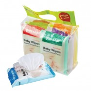 image of Us Baby Wipes Mouth Hand Face Mini 8's (8 Packs)