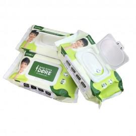 image of IDORE Premium Baby Wipe 80's X 3 packs