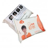 image of IDORE 100% Natural Cotton Baby Wipes 20's (2 packs)