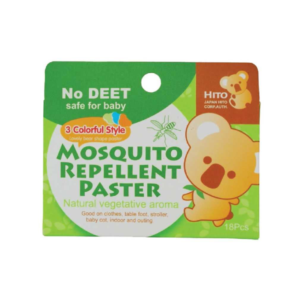 Hito Botanical Mosquito Patch 18pcs (1 box)